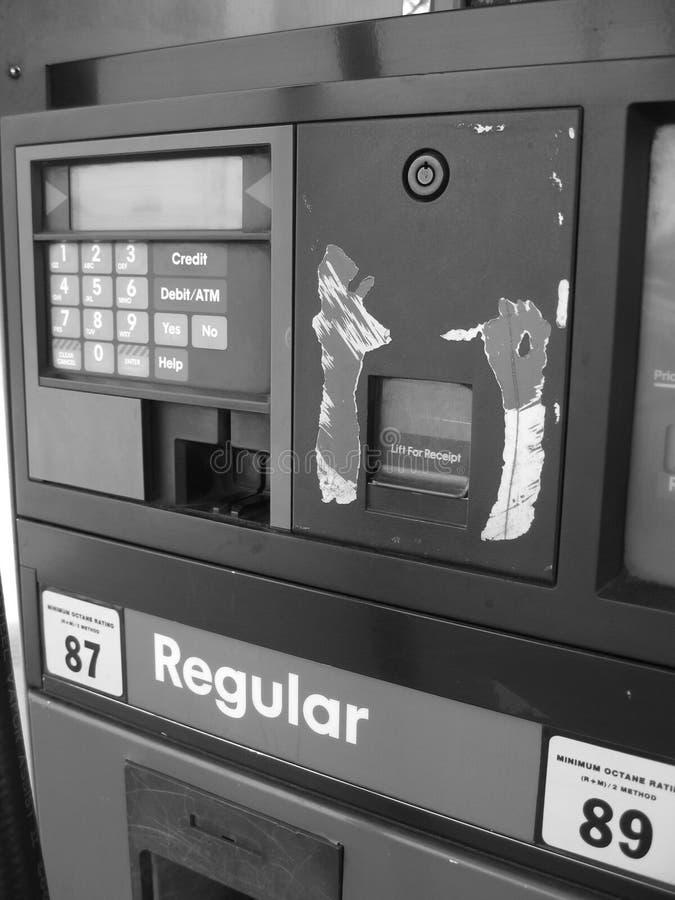 άντληση βενζίνης στοκ εικόνες