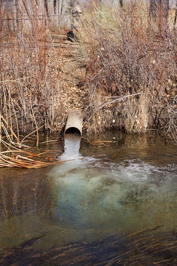Άντληση υπόγειων νερών στοκ εικόνες με δικαίωμα ελεύθερης χρήσης