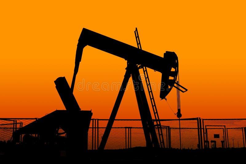 Άντληση πλατφορμών άντλησης πετρελαίου στοκ εικόνες με δικαίωμα ελεύθερης χρήσης
