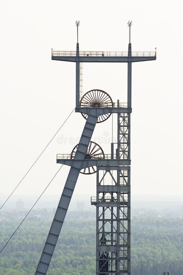 άξονας ανθρακωρυχείων στοκ φωτογραφία με δικαίωμα ελεύθερης χρήσης