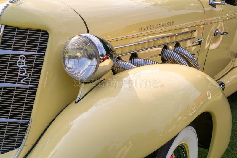 1936 Άουμπορν 852 Σπέντστερ στοκ φωτογραφία με δικαίωμα ελεύθερης χρήσης