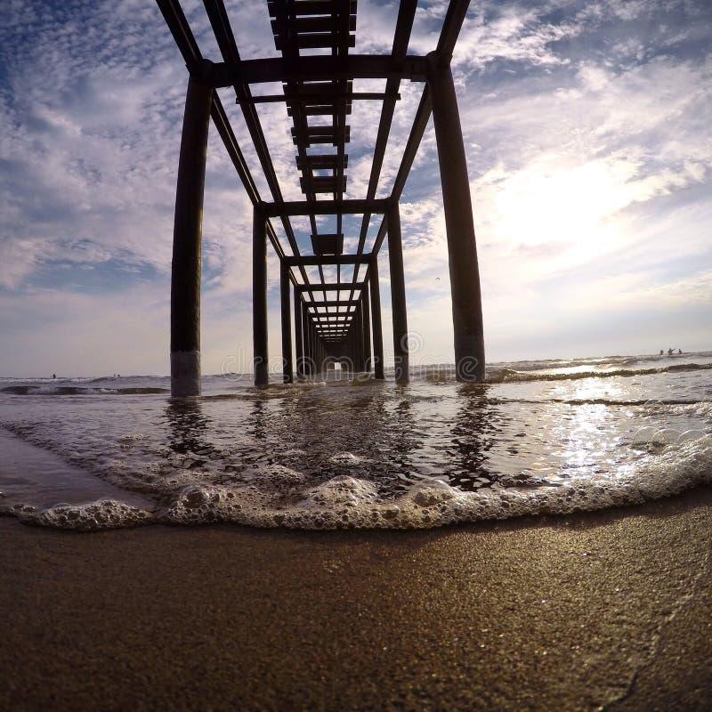 Άπειρος θαλάσσιος περίπατος στοκ φωτογραφίες