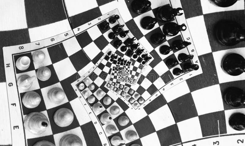 άπειρο παιχνιδιών σκακιού στοκ φωτογραφία