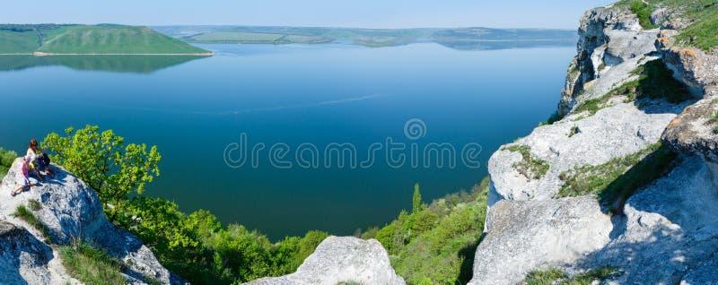 Άποψη άνοιξη Bakota από την επάνω Ουκρανία στοκ εικόνες