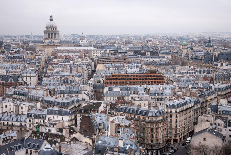 Άποψη στο Παρίσι στοκ εικόνες