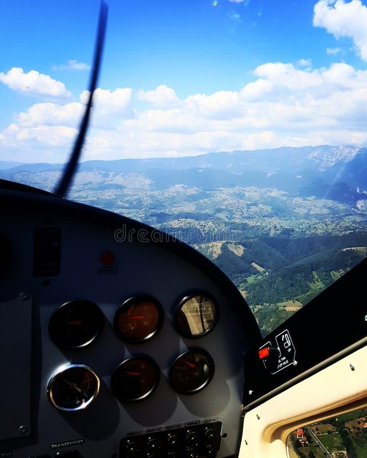 Άποψη αεροπλάνων στοκ φωτογραφία με δικαίωμα ελεύθερης χρήσης