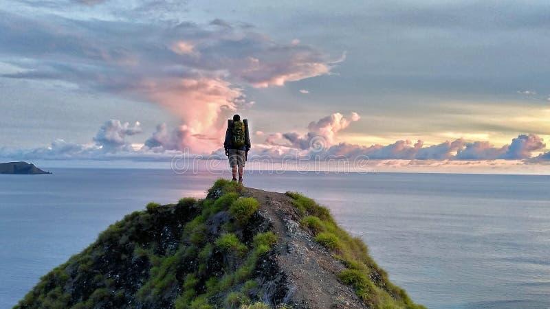 Άποψη ανατολής στην παραλία στοκ φωτογραφία με δικαίωμα ελεύθερης χρήσης