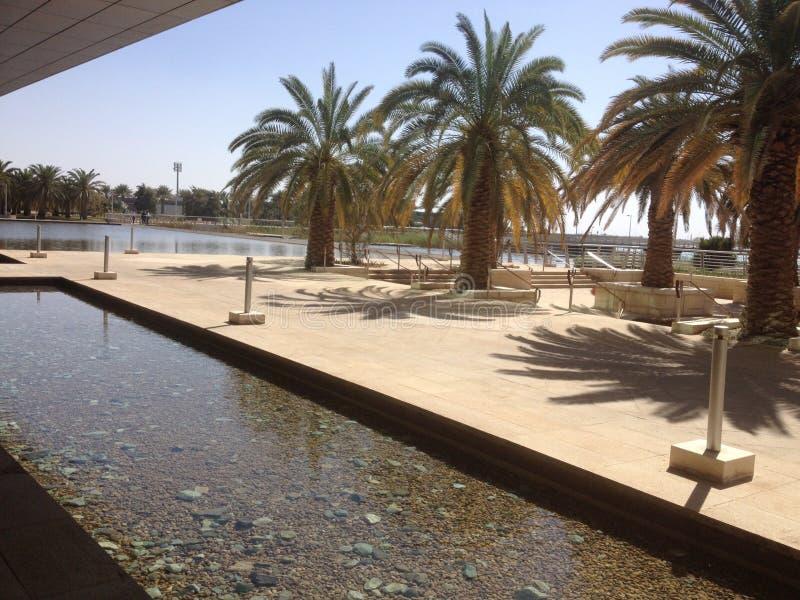 Άποψη από την παραλία Thuwal στοκ φωτογραφία με δικαίωμα ελεύθερης χρήσης