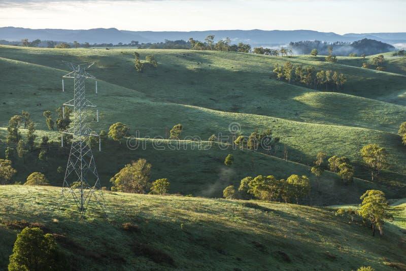 Άποψη από την πόλη επαρχίας Lithgow σε NSW Αυστραλία στοκ φωτογραφία με δικαίωμα ελεύθερης χρήσης