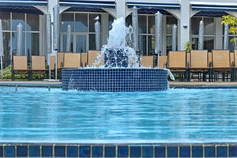 Άποψη από τη λίμνη στην οικοδόμηση ξενοδοχείων του Προέδρου ξενοδοχείων Protea στοκ εικόνες με δικαίωμα ελεύθερης χρήσης