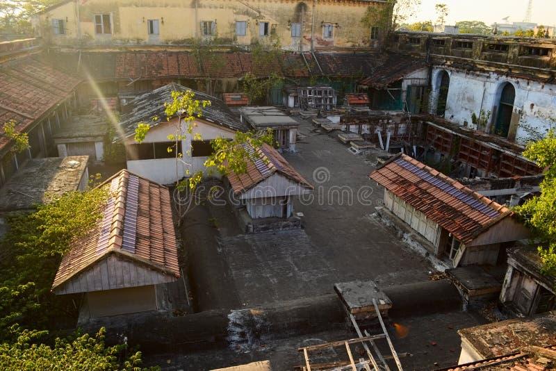 Άποψη από τη στέγη του παλατιού Chepauk σε Chennai στοκ εικόνες