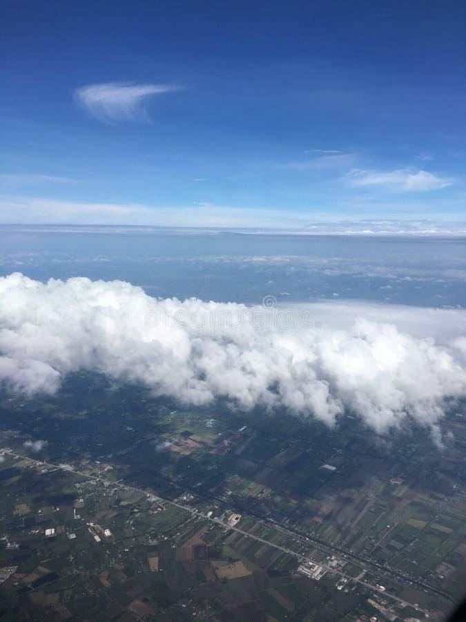 Άποψη από τον ουρανό στοκ φωτογραφία