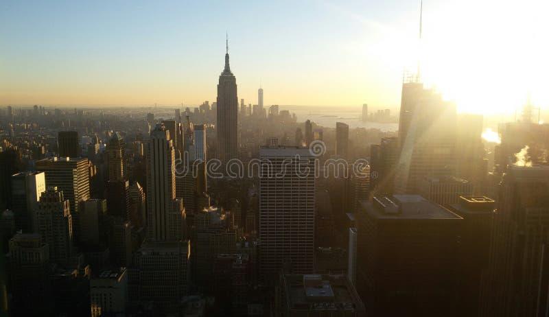 Άποψη από το κέντρο Rockefeller στοκ εικόνα