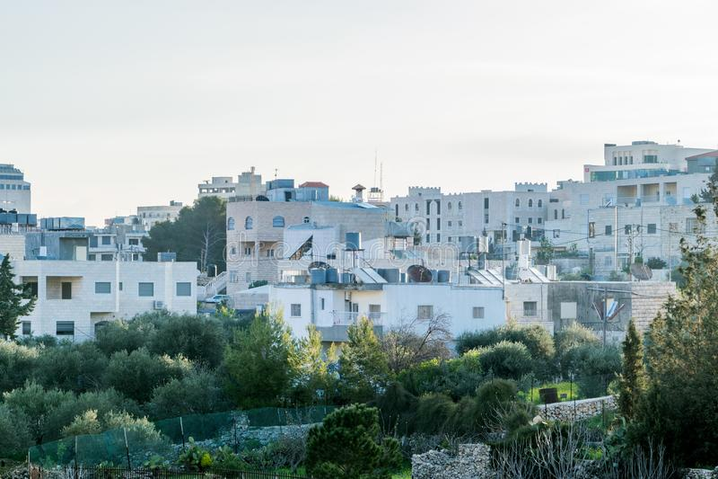 Άποψη από το ξενοδοχείο Nativity - σωστό στοκ εικόνα με δικαίωμα ελεύθερης χρήσης