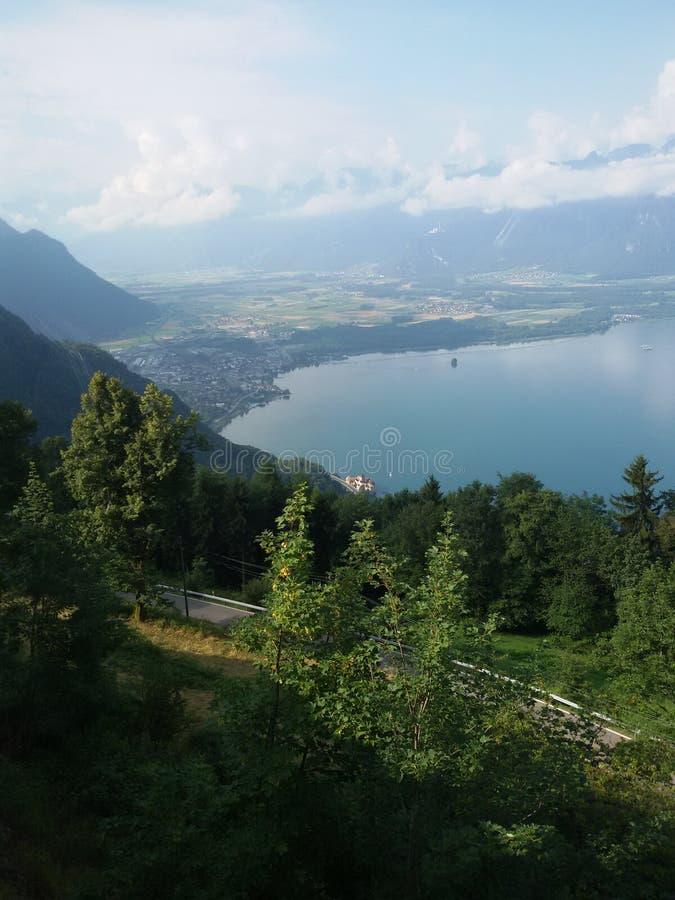 Άποψη από Caux Castle στοκ φωτογραφία με δικαίωμα ελεύθερης χρήσης