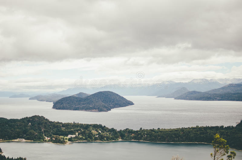 Άποψη από Cerro Campanario στοκ εικόνες