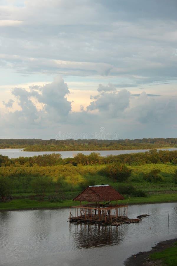 Άποψη από Iquitos στοκ φωτογραφία