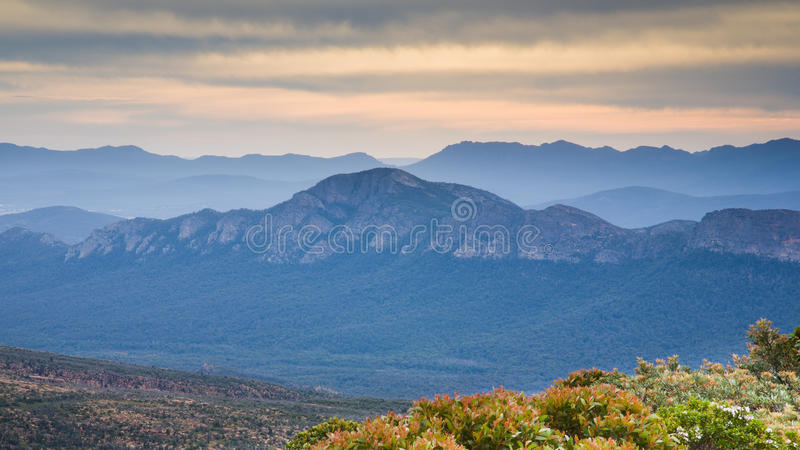 Άποψη από Mountt William στοκ φωτογραφίες με δικαίωμα ελεύθερης χρήσης