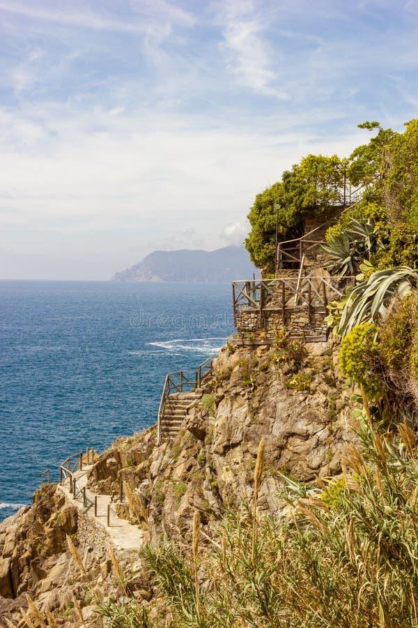Άποψη από Riomaggiore στοκ εικόνες