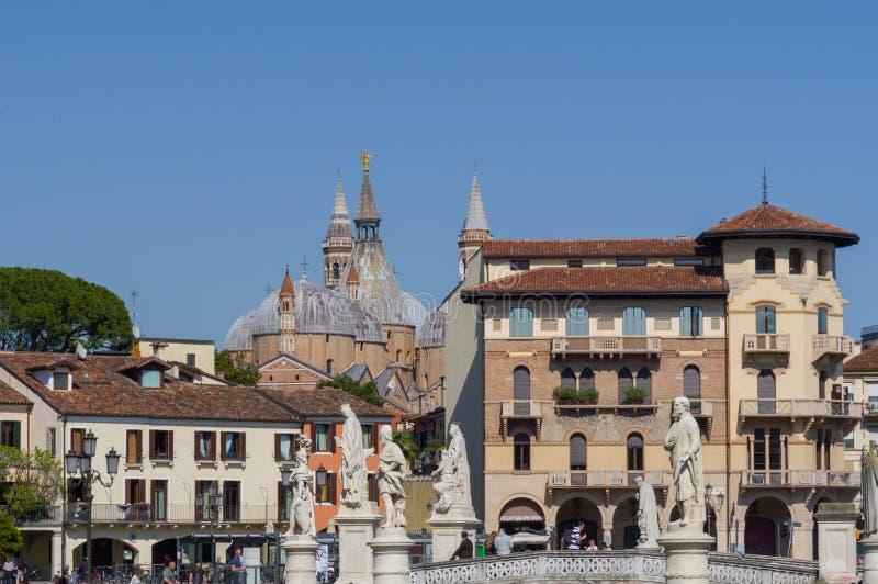 Άποψη από Valle della Prato την πλατεία στην Πάδοβα στοκ εικόνες