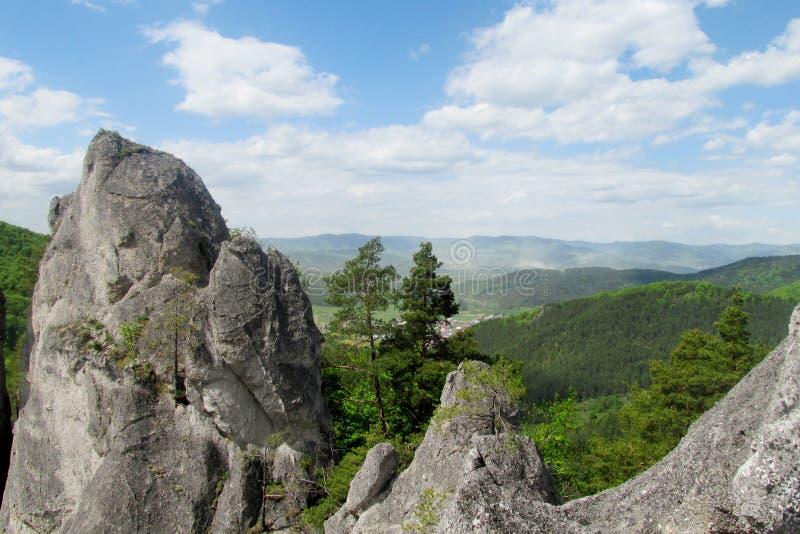 Άποψη βράχων Sulov στοκ φωτογραφία με δικαίωμα ελεύθερης χρήσης