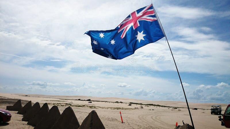 Άποψη ερήμων της Αυστραλίας στοκ εικόνα με δικαίωμα ελεύθερης χρήσης