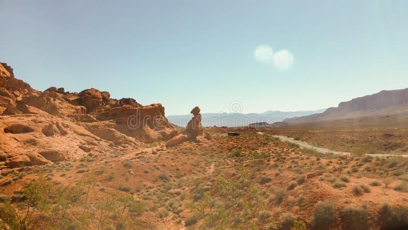 Άποψη ερήμων στοκ εικόνες με δικαίωμα ελεύθερης χρήσης