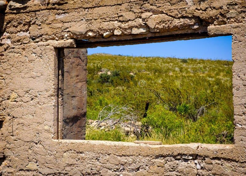 Άποψη ερήμων Abandonded στοκ εικόνα με δικαίωμα ελεύθερης χρήσης