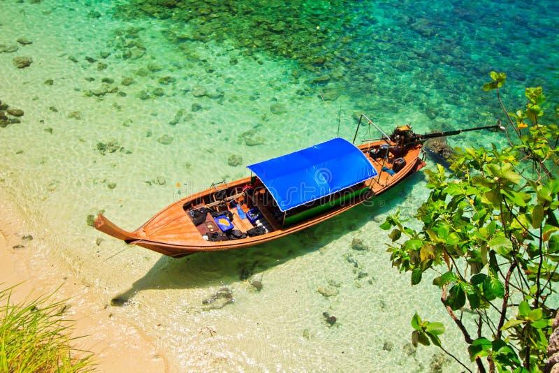Άποψη θάλασσας στη θάλασσα Andaman της Ταϊλάνδης στοκ εικόνα με δικαίωμα ελεύθερης χρήσης