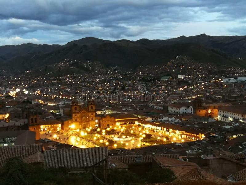 Άποψη θέσεων Cusco στοκ φωτογραφία με δικαίωμα ελεύθερης χρήσης