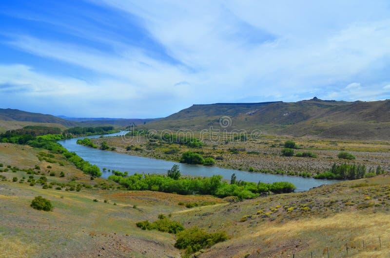 Άποψη λιμνών, SAN Carlos de Bariloche στοκ φωτογραφία με δικαίωμα ελεύθερης χρήσης