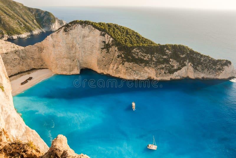 Άποψη ναυαγίου στοκ φωτογραφίες με δικαίωμα ελεύθερης χρήσης