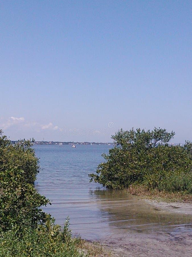 Άποψη νερού στοκ εικόνες με δικαίωμα ελεύθερης χρήσης