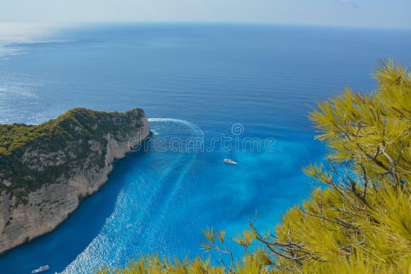 Άποψη νησιών της Ελλάδας στοκ εικόνες με δικαίωμα ελεύθερης χρήσης