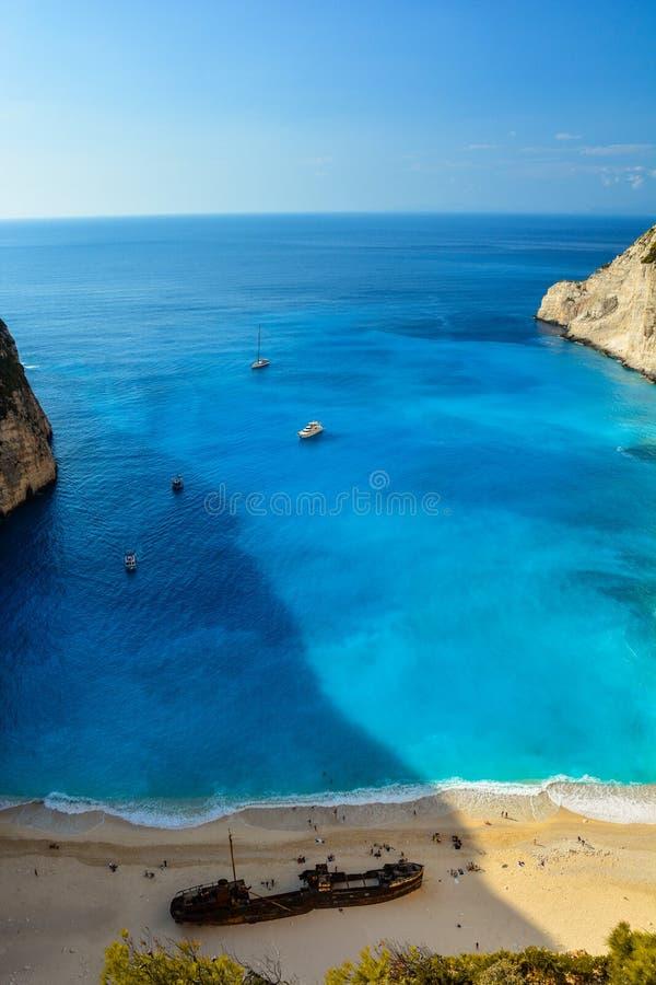 Άποψη νησιών της Ελλάδας στοκ φωτογραφία
