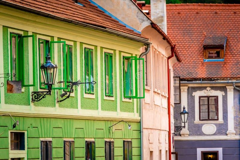 Άποψη οδών της όμορφης αρχιτεκτονικής στοκ φωτογραφία