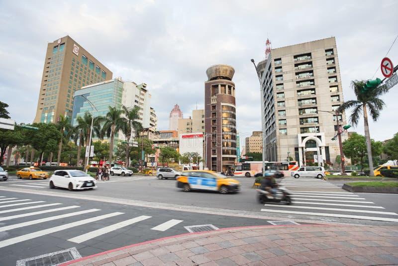 Άποψη οδών Ximending στο χρόνο βραδιού, Ταϊπέι, Ταϊβάν στοκ φωτογραφία με δικαίωμα ελεύθερης χρήσης