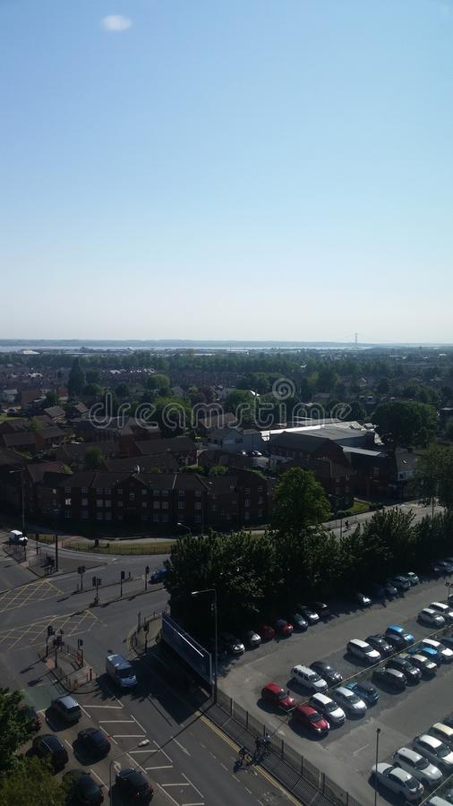 Άποψη οριζόντων του Hull από HRI στοκ φωτογραφία με δικαίωμα ελεύθερης χρήσης