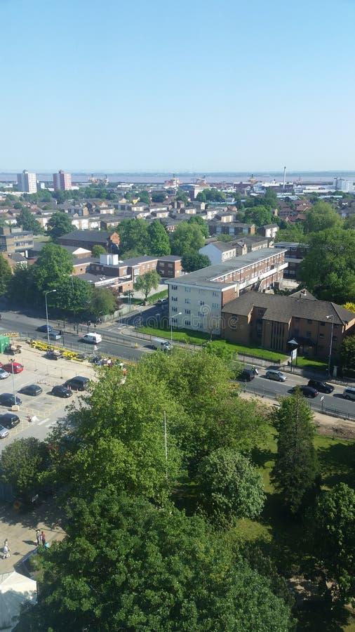 Άποψη οριζόντων του Hull από HRI στοκ φωτογραφία