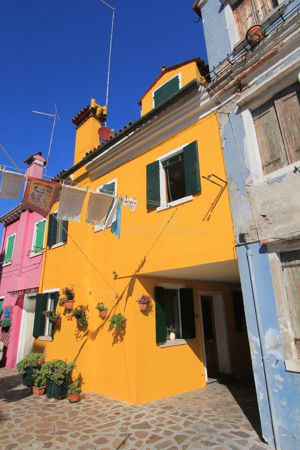 Άποψη οδών της Βενετίας στην Ιταλία στοκ εικόνες