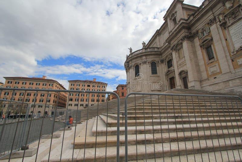 Άποψη οδών της Ιταλίας Ρώμη στοκ φωτογραφία