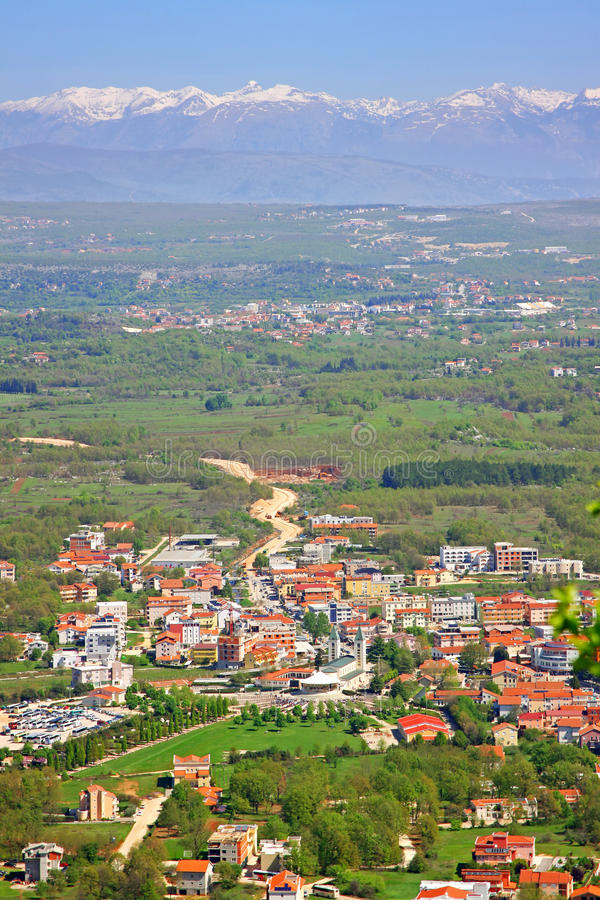 Καθολική εκκλησία σε Medjugorje στοκ εικόνες με δικαίωμα ελεύθερης χρήσης