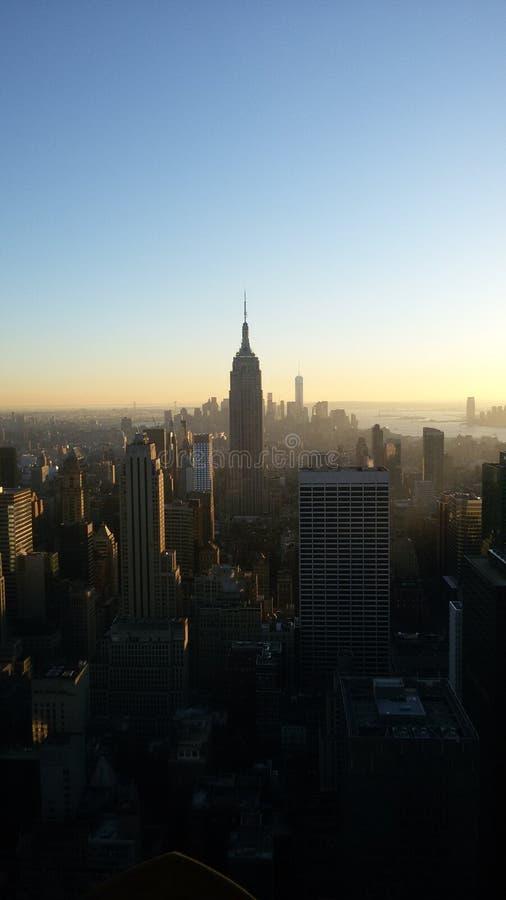 Άποψη πέρα από τη Νέα Υόρκη στοκ εικόνα με δικαίωμα ελεύθερης χρήσης