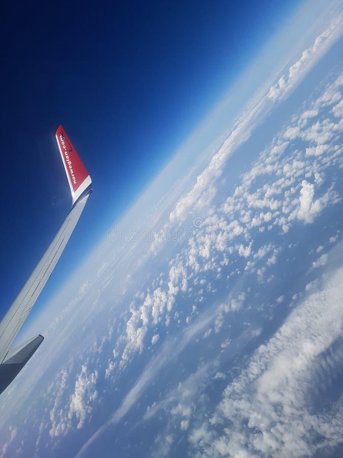 Άποψη πέρα από τον κόσμο στοκ φωτογραφία
