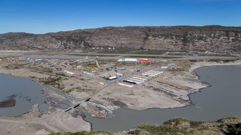 Άποψη πέρα από Kangerlussuaq, Γροιλανδία στοκ εικόνες με δικαίωμα ελεύθερης χρήσης