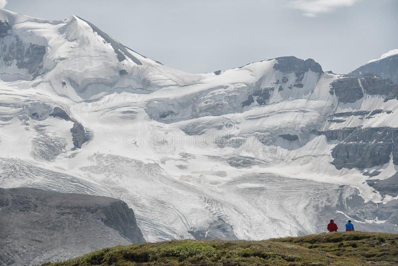 Άποψη παγετώνων πάρκων Icefield στοκ εικόνες με δικαίωμα ελεύθερης χρήσης