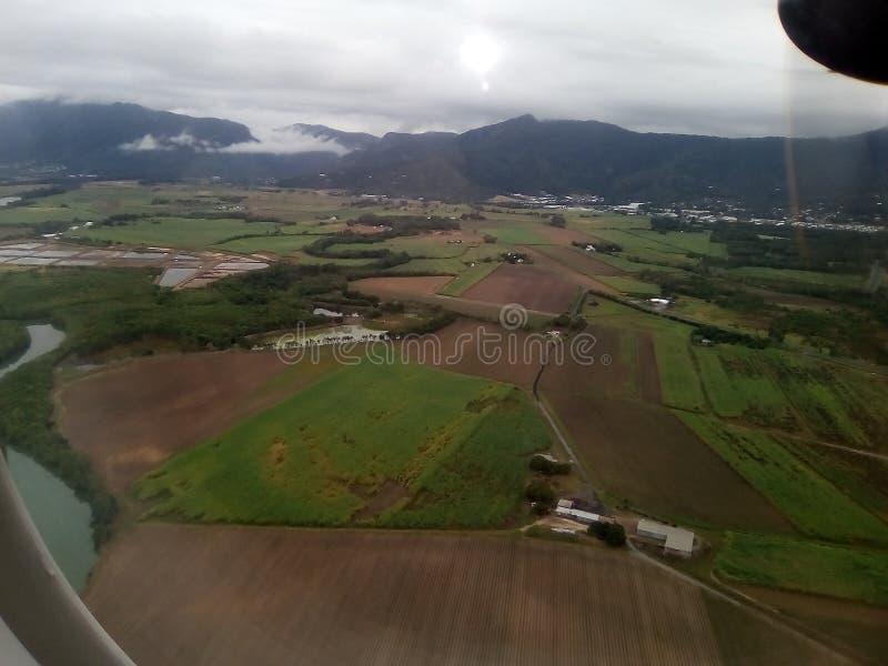 Άποψη παραθύρων αεροσκαφών στοκ φωτογραφία