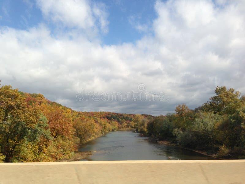 Άποψη ποταμών στοκ εικόνα
