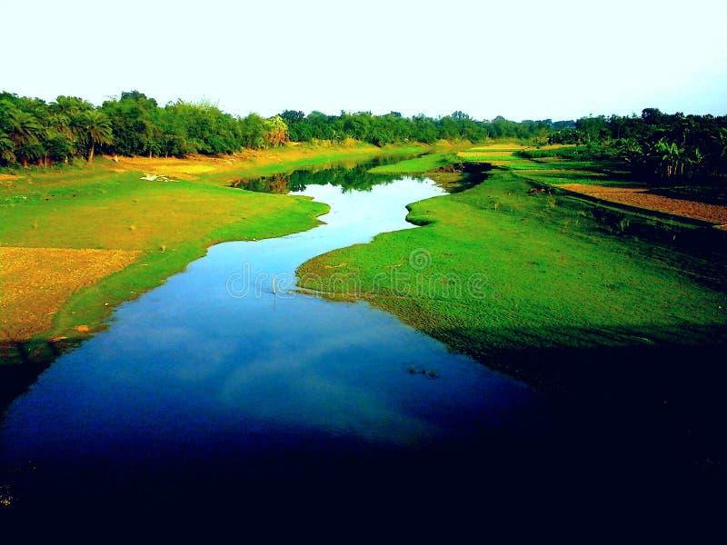 Άποψη ποταμών στοκ φωτογραφία
