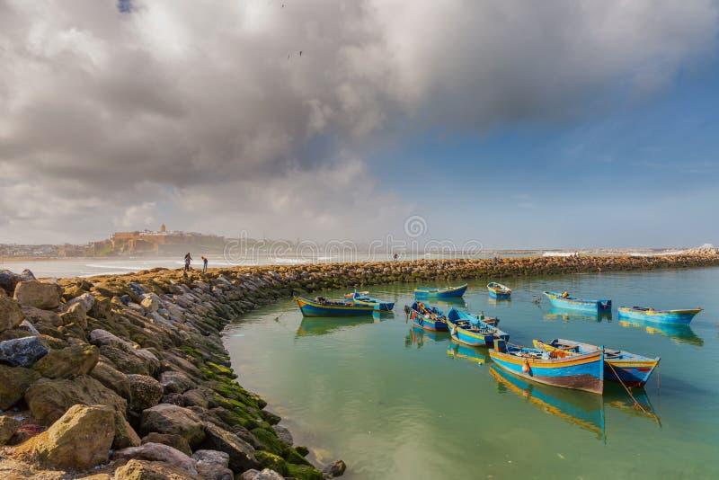 Άποψη πρωινού Medina Rabat, Μαρόκο στοκ εικόνες με δικαίωμα ελεύθερης χρήσης